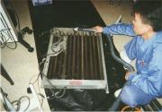 置形タイプエアコン洗浄作業の流れ4