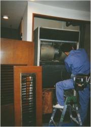 置形タイプエアコン洗浄作業の流れ5