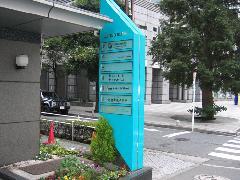 新宿区 テナントビル 建植看板