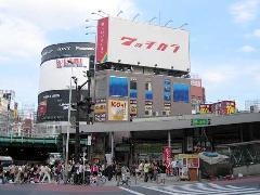 新宿区 飲食店 大型壁面看板