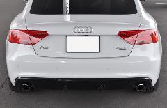 Audi A5 Sportback(B8.5) AS Sport カーボンリアディフューザー