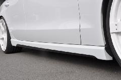 Audi A5 Sportback(B8) AS Sport サイドスカート(FRP&カーボン)