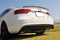 Audi A5 Sportback(B8) AS Sport カーボンリアディフューザー