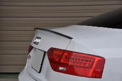 Audi S5 Coupe(B8) AS Sport カーボンリアガーニーフラップ