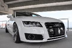 Audi A7(C7) AS Sport カーボンフロントスポイラー