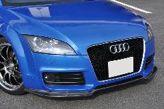 Audi TT(8J) AS Sport カーボンフロントスポイラー