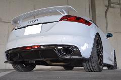 Audi TTRS(8J)用 カーボンリアディフューザー