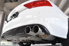 Audi A7(C7) AS Sport カーボンリアディフューザー