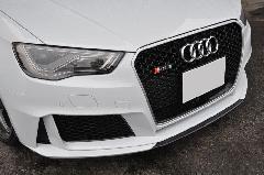 Audi RS3 Sportback(8V) AS Sport カーボンフロントスポイラー