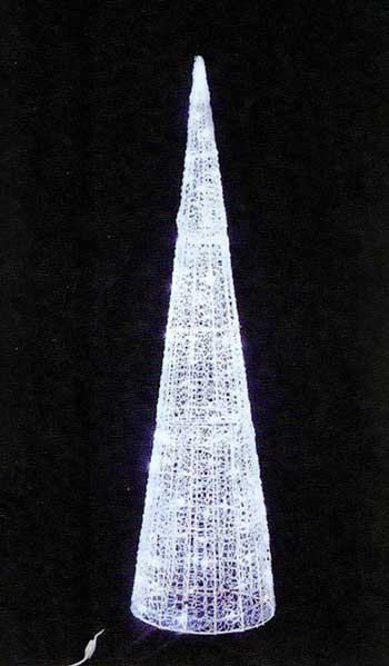 LEDグローコーン LEDツインクルグローコーン TWCORNW H1800mm