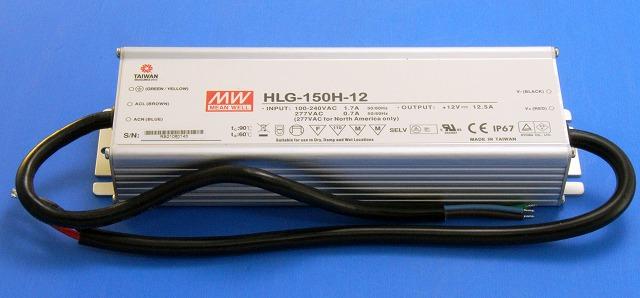 MW HLG-150H-12 (定電圧 DC12V) HLGシリーズスイッチング電源