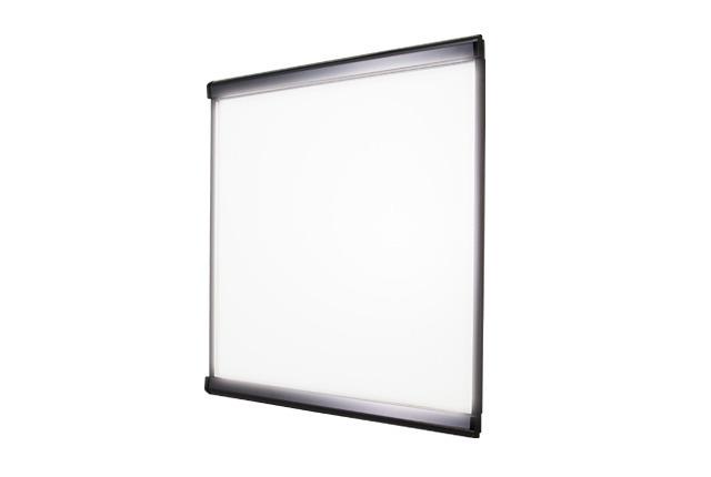シンエイ PG-32R LEDスリムツーオープン 500×500 BG/B(ブラック)