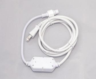 2芯パワーコード 2WPOWER ホワイト 2芯LEDストリングライト用