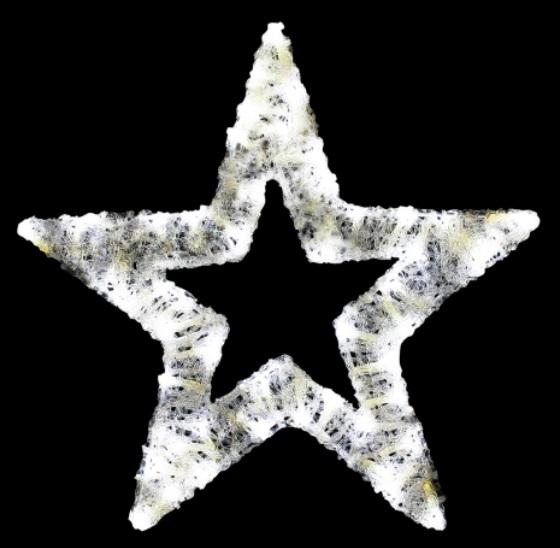 オープンスター(大) 2DWSTARB ホワイト