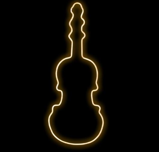 ネオン バイオリン NEONFIDDLEWW ネオン・カーニバル