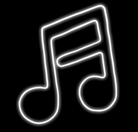 ネオン 16分音符 NEONNOTE16W ネオン・カーニバル