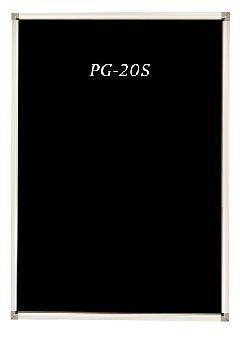 PG-20S B3 屋内専用 ポスターグリップ角形