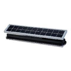 日恵製作所(NIKKEI)/ WA45S-004AW 白 ソーラー式LED照明アトリウム・一体型 夜間自動点灯・拡散型65°