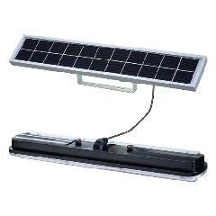 日恵製作所(NIKKEI)/ WA45S-004BW 白 ソーラー式LED照明アトリウム・分離型 夜間自動点灯・拡散型65°