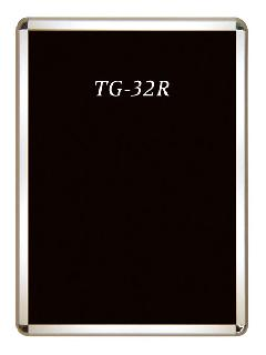 TG-32R B3 ダンパークリップ用ポスターグリップ角R型 屋内用