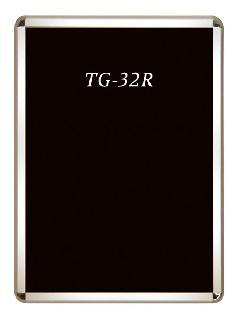 TG-32R A3 ダンパークリップ用ポスターグリップ角R型【屋外用】