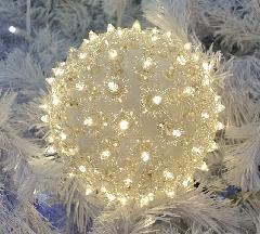 LEDクリスタルボールS LED-CR-B-100-WW ウォームホワイト Φ160mm