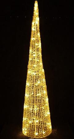 LEDグローコーン 小 シャンパンゴールド LED SGCORNS H1500mm