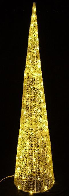 LEDグローコーン 大 シャンパンゴールド LED SGCORNB H2400mm