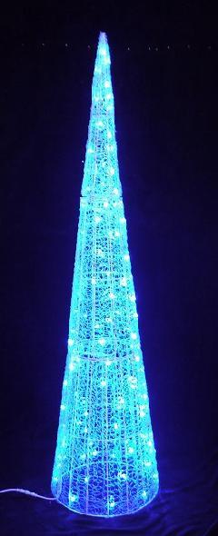 LEDグローコーン 大 ブルー LED BCORNB H2400mm