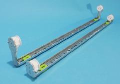 32W 蛍光灯ソケット ホルダー(安定器なし)・【蛍光灯器具 安定器無し】 S金具付 (ロータイプ)