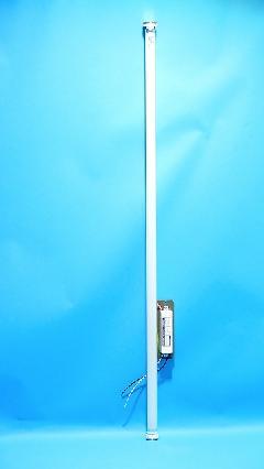 レシップ FLED40W-SL 直管型LEDランプ 電球色(3000K) 看板灯器具付き 板付型