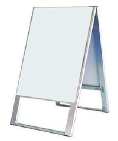 TOKISEI スタンド看板 両面白無地(面板貼付スタイル) SKA450×600 本体のみ