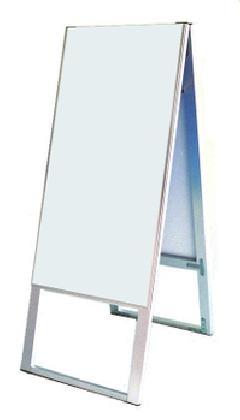TOKISEI スタンド看板 両面白無地(面板差換えスタイル) SKB450×900 本体のみ
