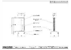 RSスタンド1226グレー用面板 SS1111用面板 【1枚】