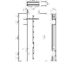 エコアーチ突出し156面板 1800×450 TSZ1313用面板