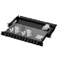 日東工業 RD98-1SC8PN スライド式スプライスユニット・Pシリーズ(ラックマウント型)光パッチパネル