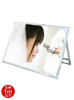TOKISEI PSSK-B0YLKW(ホワイト) ポスター用スタンド看板 B0横 ロウ 片面