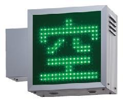 タテヤマアドバンス LED満空看板 PS-10-�Y (赤/緑)