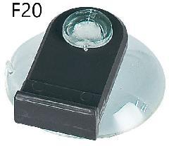 ファースト F20 吸盤付き吊り具 タペストリーバーφ20用オプション
