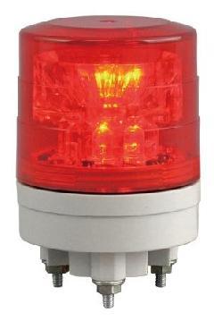 日恵製作所 VL04S-024TR 赤 ニコスリム φ45 AC/DC12V〜24V