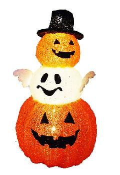 3Dハロウィン かぼちゃ(3段) GLPUMPKIN004 ハロウィンモチーフ