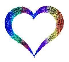 7色の虹ビッグハート BIGHEART7 W258×H222×D30