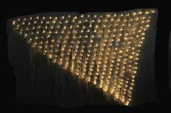 トライアングルネットライト TRNET300SG シャンパンゴールド・ブラックコード