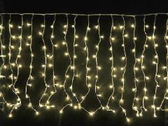 LED300球つららライト SGTURARA300 シャンパンゴールド クリアコード