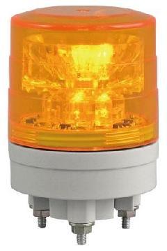 日恵製作所 VL04S-024AY 黄 ニコスリム φ45 AC/DC12V〜24V 制御入力・回転