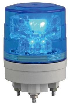 日恵製作所 VL04S-024AB 青 ニコスリム φ45 AC/DC12V〜24V 制御入力・回転