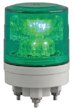 日恵製作所 VL04S-024AG 緑 ニコスリム φ45 AC/DC12V〜24V 制御入力・回転