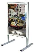 TOKISEI ポスター用メッセージスタンドB2両面  PSMS-B2RB(黒)