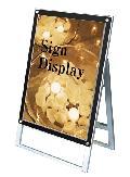 TOKISEI ポスター用スタンド看板セパレートポケットA1片面  PSSKSP-A1KB(ブラック)