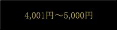 4,001円〜5,000円